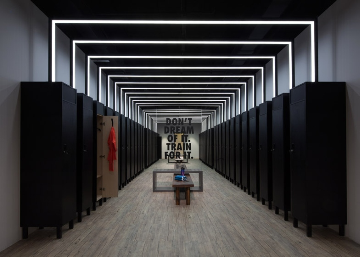nike studio at beijing art gallery by coordination asia