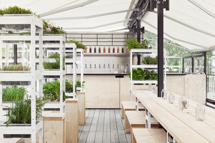 beer garden Retail Design Blog