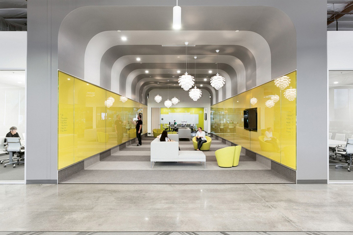 Ooyala offices by hga architects and engineers santa for Office design companies