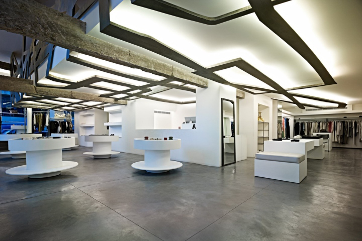 piaff boutique by batimat architects beirut lebanon boutique reception counter