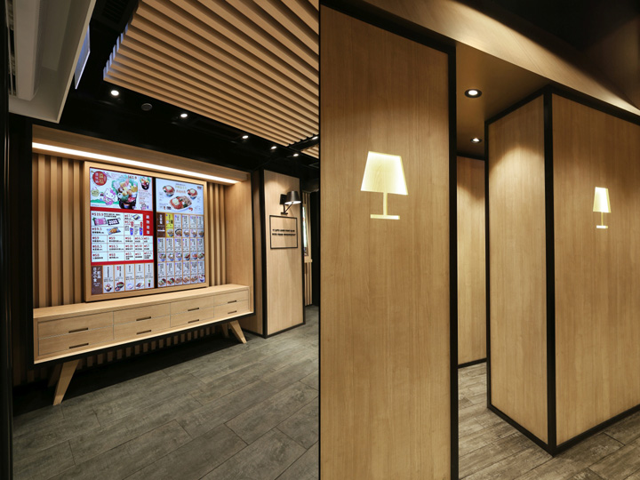 Yoshinoya Fast Food Restaurant By AS Design Service Hong Kong