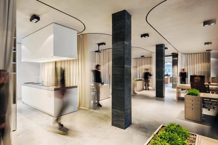 Uncurtain Office By Dekleva Gregoric Architects Ljubljana Slovenia