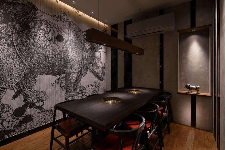 298 Nikuya Room Restaurant By Studio C8 Hong Kong