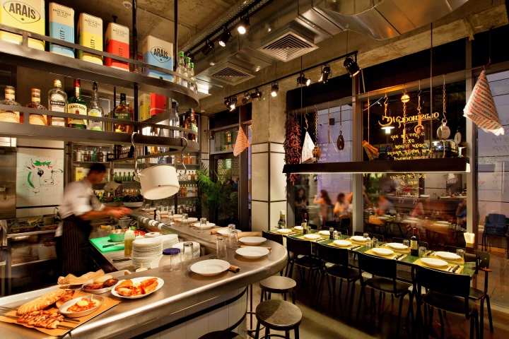 Arais Restaurant By Studio Dan Troim Tel Aviv Israel