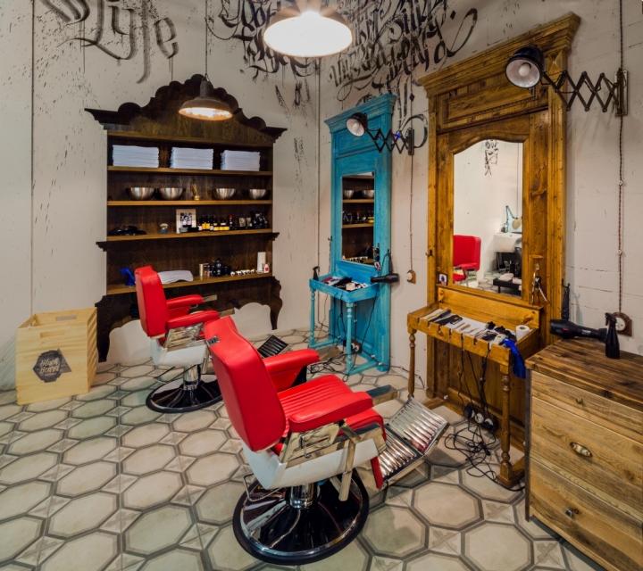 187 Black Beard Barbershop By B Amp V Studio Moscow Russia
