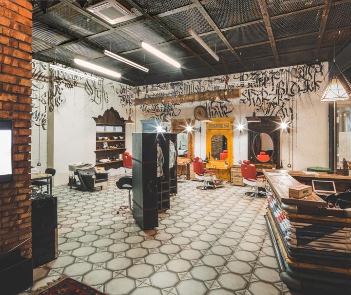 » Black Beard Barbershop By B&V Studio, Moscow
