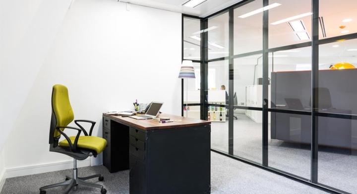 Brandme design consultancy office by thirdway interiors for Interior design consultancy london
