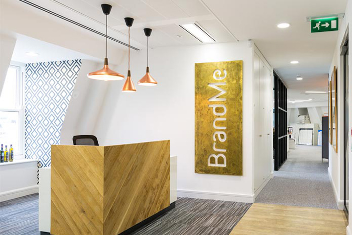 Brandme design consultancy office by thirdway interiors for Design consultancy