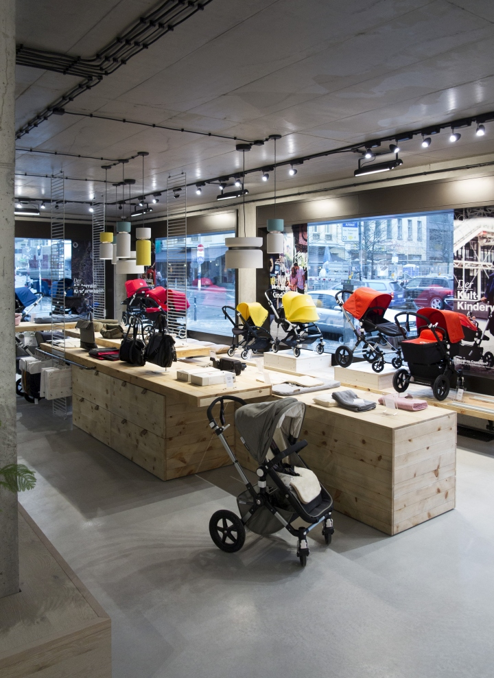 The Bugaboo store in Berlin is not Werner Aisslinger's first interior design  project to employ lighting by B.lux. In the common areas at the 25 Hours  Hotel ...