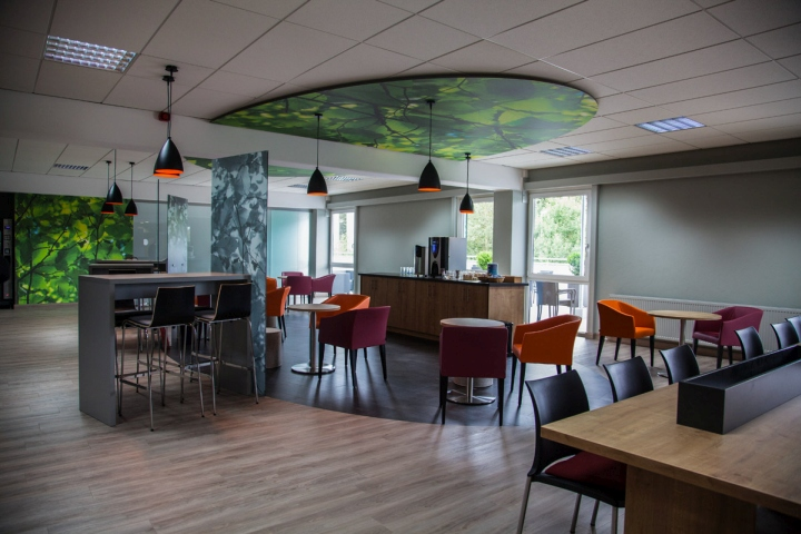 canteen wnt restaurant by kitzig interior design architecture group kempten germany. Black Bedroom Furniture Sets. Home Design Ideas