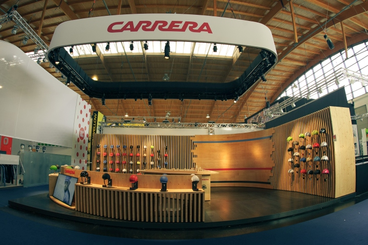 carrera booth by soolid at eurobike fair friedrichshafen germany. Black Bedroom Furniture Sets. Home Design Ideas