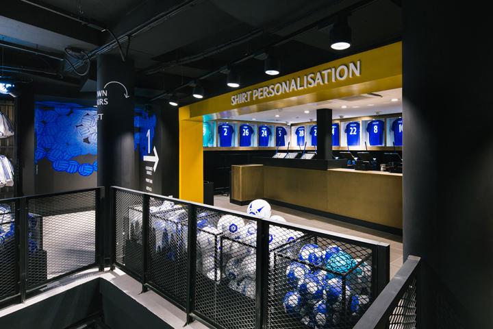 Chelsea FC Megastore by Schwitzke & Partner at Stamford Bridge