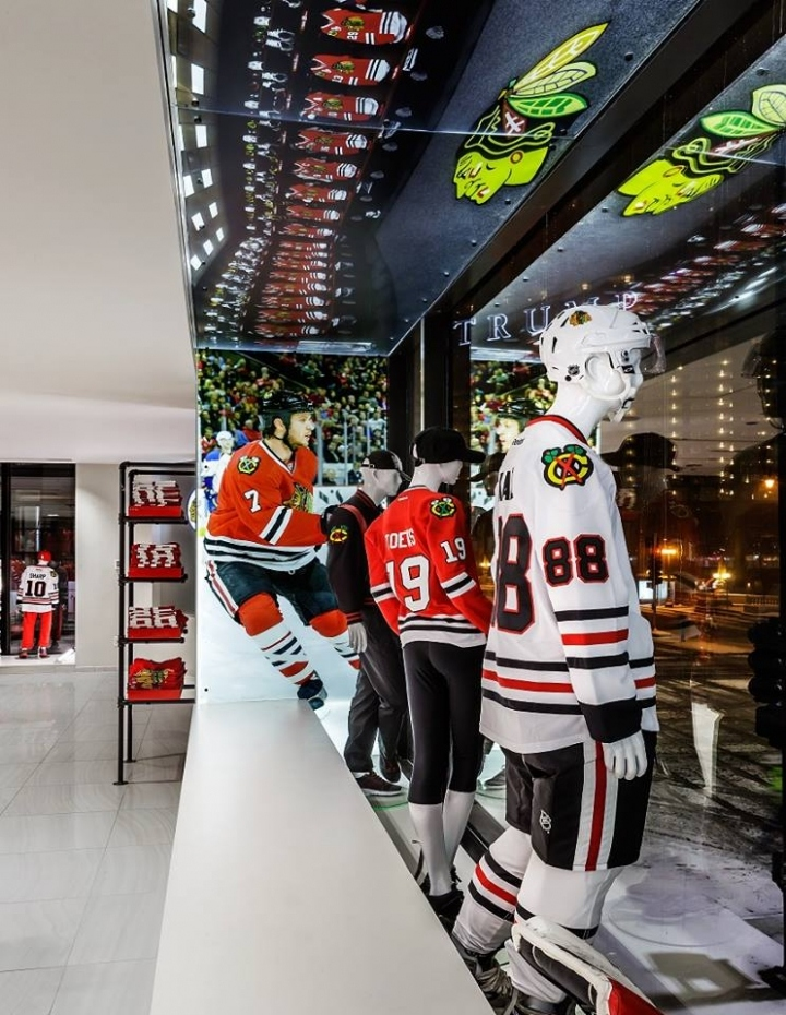 buy popular 120d0 631b7 Chicago Blakhawks Flagship Store by Chipman Design ...