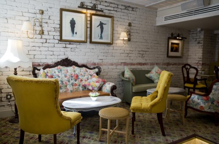 Copper Blossom Cocktail Lounge By Tibbatts Abel Edinburgh