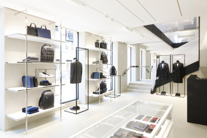 56e4ce8074d4 Around the corner from the iconic Dior flagship store on swanky Avenue  Montaigne, the brand has relocated the boutique for its Dior Homme line in  this ...