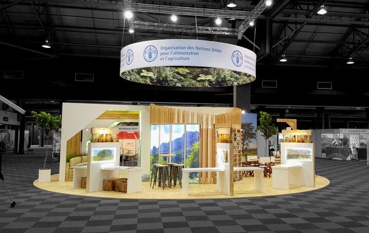 Expo Stands Durban : Fao pavilion by hott d durban south africa retail
