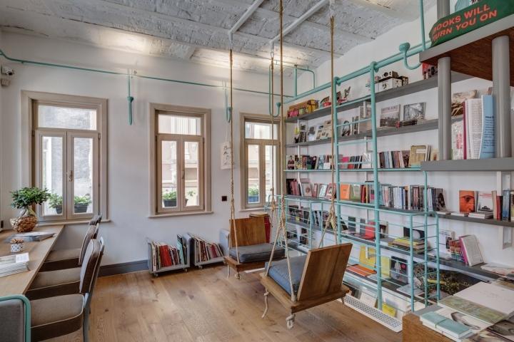 FiL Books By Halkar Architecture Istanbul Turkey