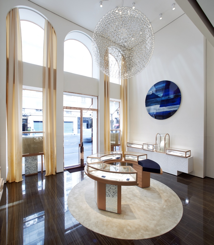 Lighting Stores In Paris: » Fred Jewellery Boutique By Malherbe Design, Paris