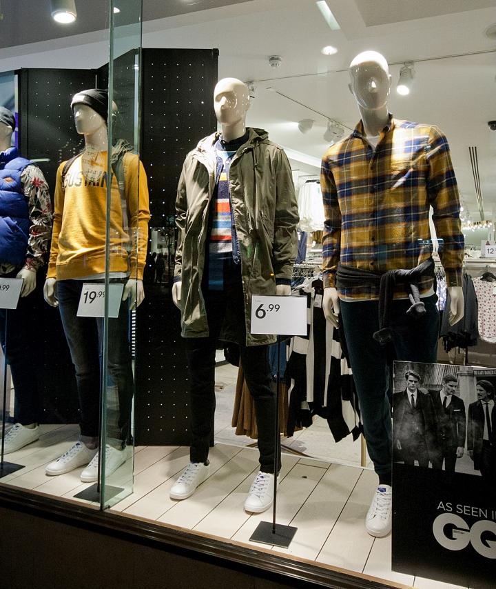 H M Windows 2015 Fall London Uk Retail Design Blog