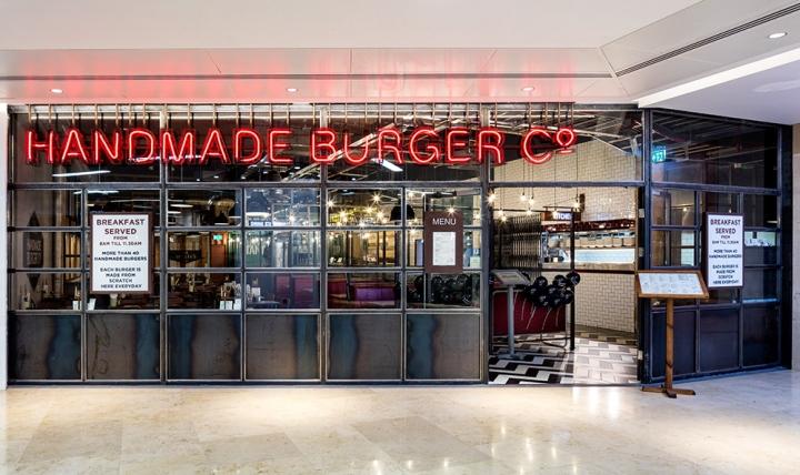 Restaurant Furniture Birmingham Al : Handmade burger co restaurant by brown studio