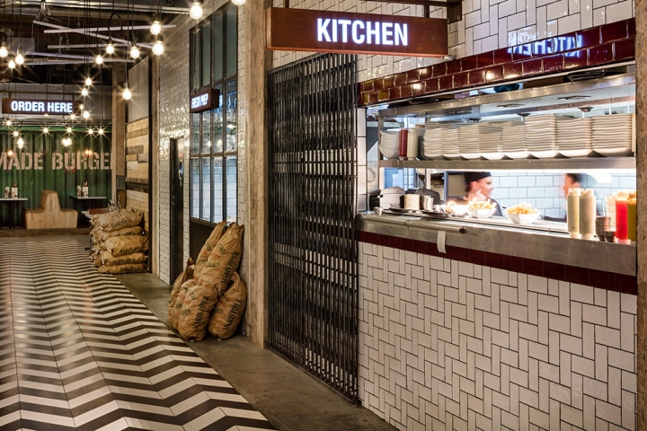 Handmade burger co restaurant by brown studio birmingham