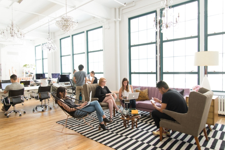 homepolish offices new york city retail design blog