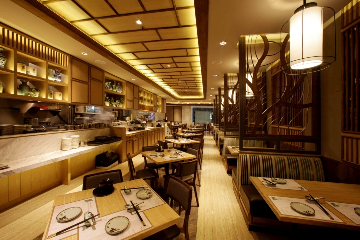Imperial treasure restaurant by metaphor interior at plaza for Interior design jakarta