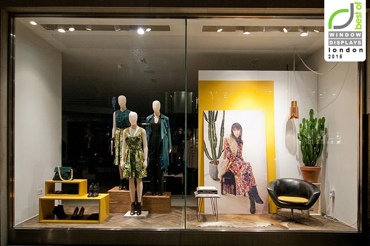Karen Millen Windows 2015 Fall By Seen Displays London UK October 7th Retail Design Blog