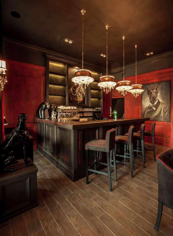 Lord Lounge Restaurant by 2kul Interior Design, Jelenia Góra – Poland