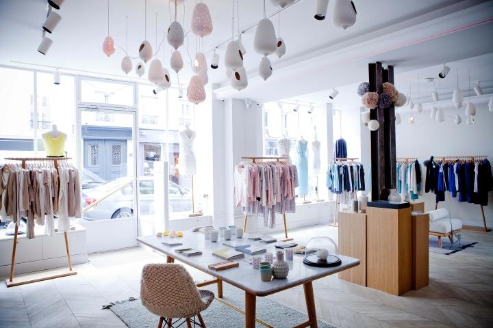 Marie sixitine store by studio janr ji paris france - Boutique de decoration paris ...