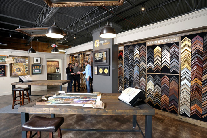 Masterpiece Framing Store, Bloomingdale – Illinois » Retail Design Blog