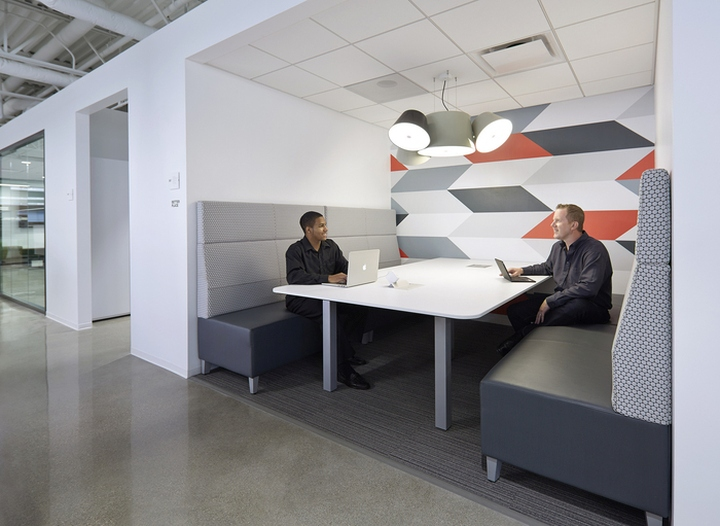 National Office Furniture Headquarters by Gensler Jasper Indiana