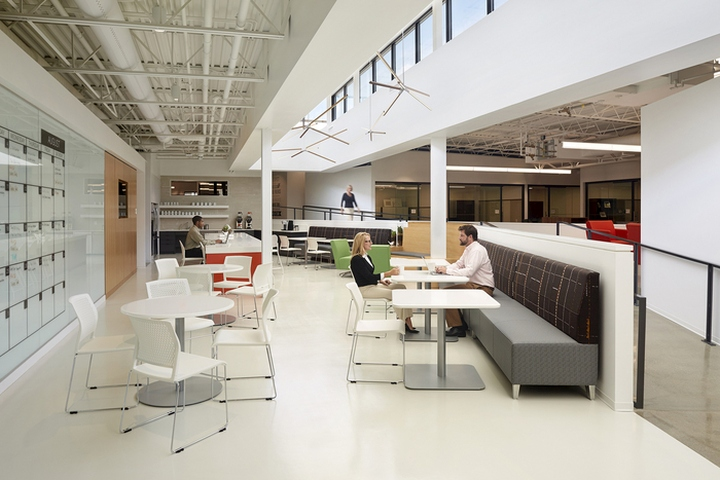 National Office Furniture Headquarters By Gensler Jasper Indiana