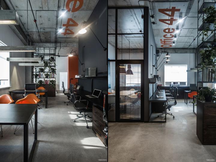 187 Office 44 By Yodezeen Kiev Ukraine