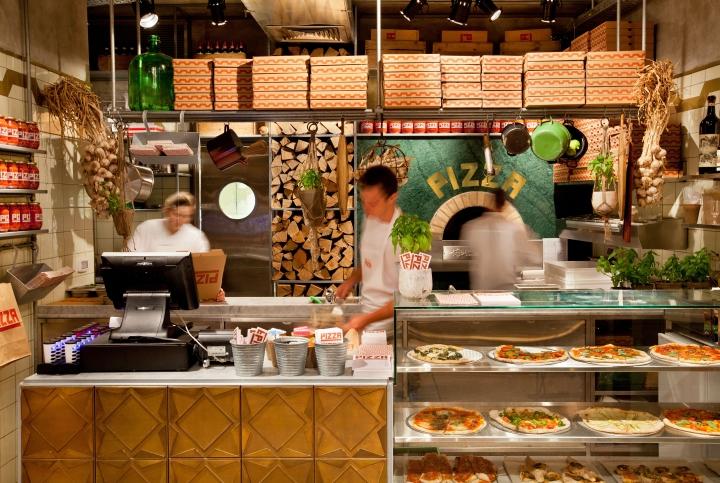Pizza place by Dan Troim, Tel Aviv - Israel » Retail ...