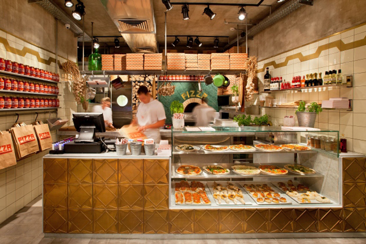 187 Pizza Place By Dan Troim Tel Aviv Israel