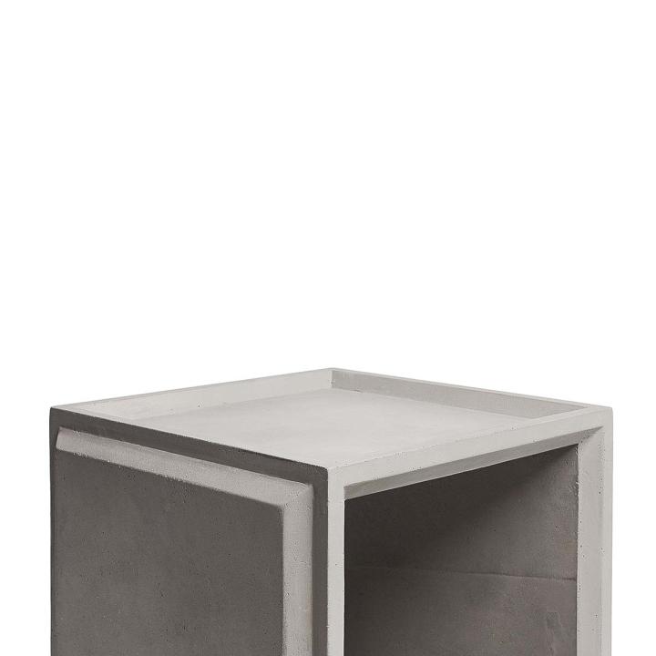 Vintage Plus Concrete Modular Storage Solution by Lyon Beton for Gessato