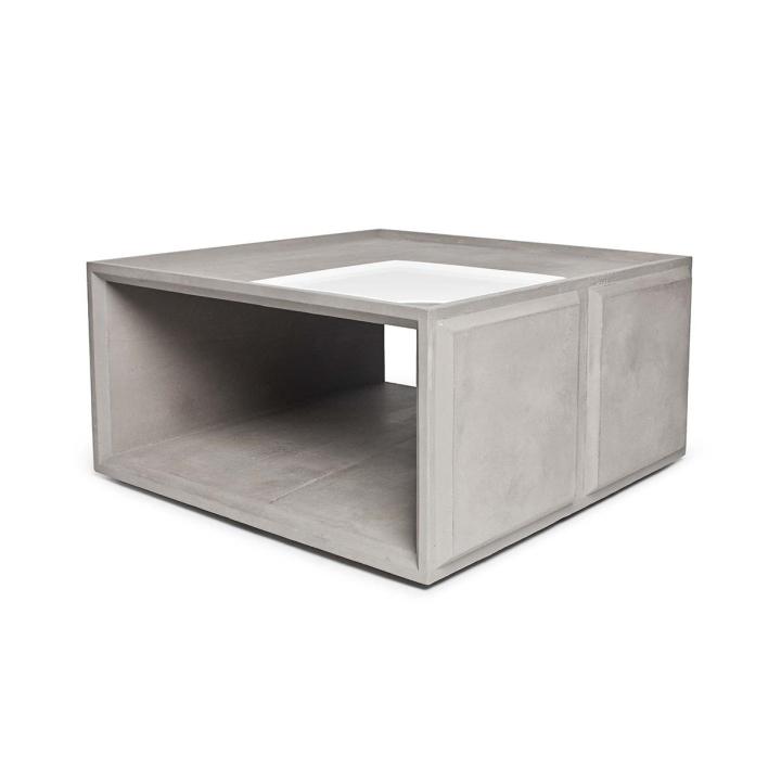 Marvelous Plus Concrete Modular Storage Solution by Lyon Beton for Gessato