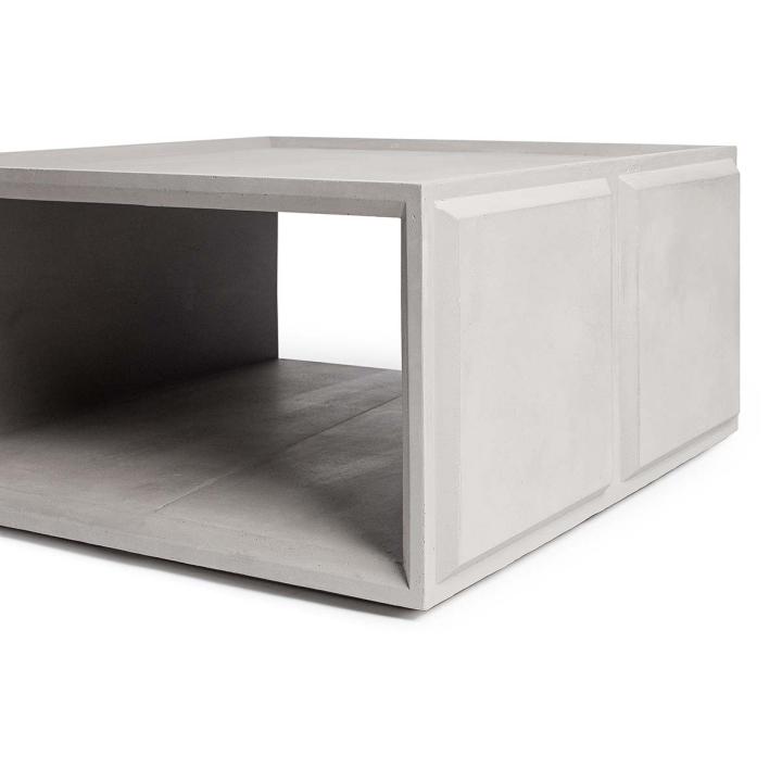 Amazing Plus Concrete Modular Storage Solution by Lyon Beton for Gessato