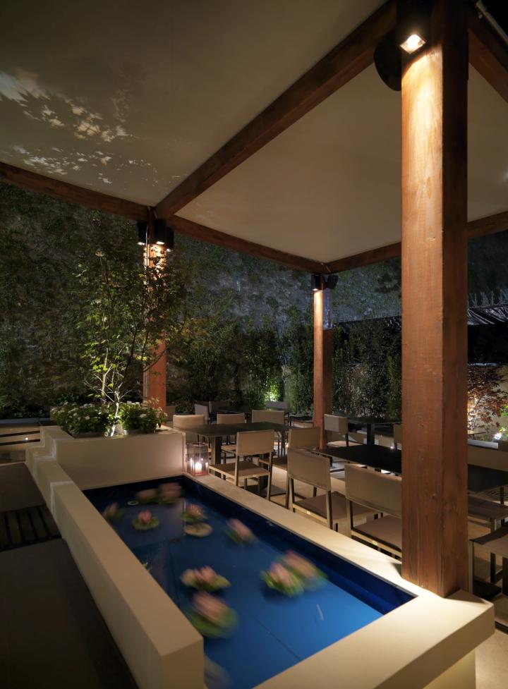 Ryu Japanese Restaurant By Andrea Langhi Design Bergamo