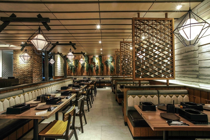 Shaburi restaurant by metaphor interior at grand indonesia for Interior design jakarta