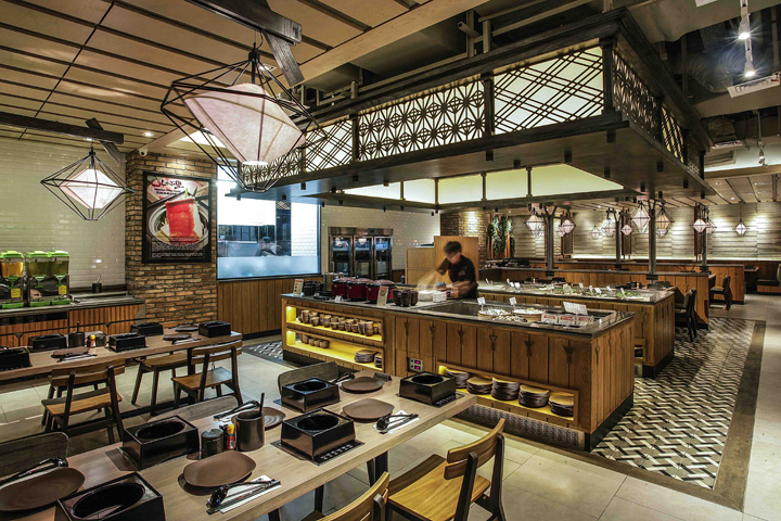 shaburi restaurant by metaphor interior at grand indonesia jakarta rh retaildesignblog net