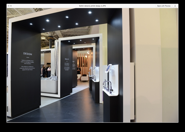 Simple Exhibition Stand Goals : Sottini exhibition stand by conran design group at