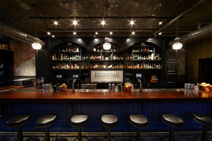 Designed By Interior Designer, Bar Manager And Co Owner, Julia Petiprin Of  PRN Interior Design, The 1,200 Sq Ft. Bar Features An Authentic Storefront  ...