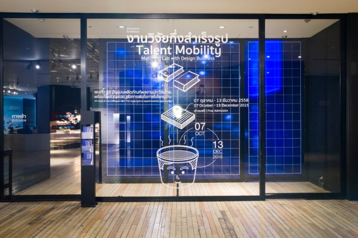Talent mobility matching lab with design business exhibition by concept simple line infographic x blueprint inspired the exhibition talent mobility matching lab with design business that took me 50 research malvernweather Image collections