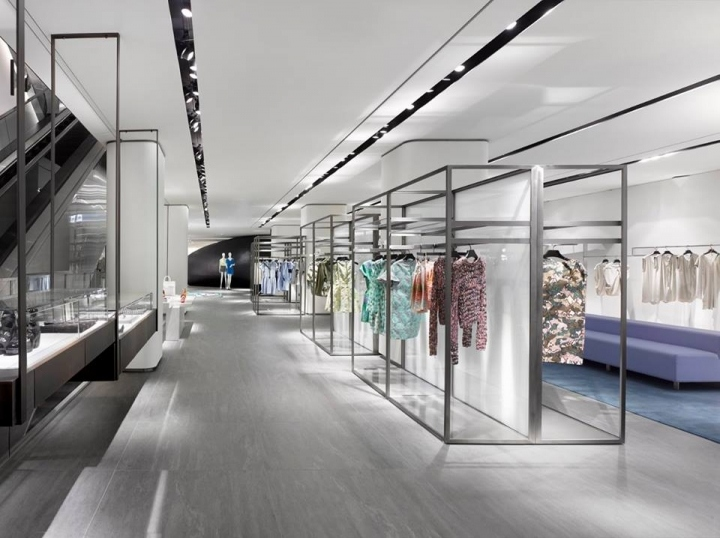 The galleria luxury hall west department store seoul for Interior design department