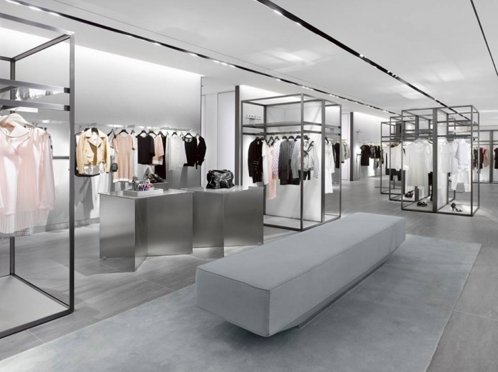 luxury hall west department store seoul south korea retail