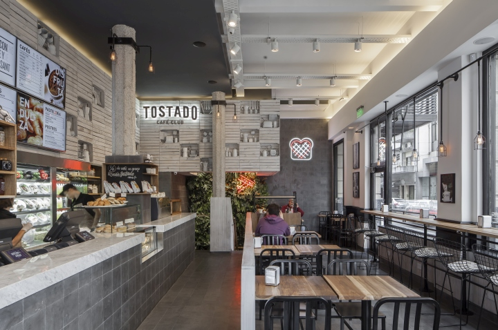 Tostado Cafe Club By Hitzig Militello Arquitectos Buenos