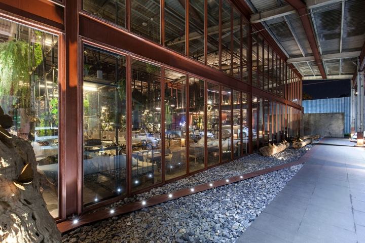187 Vivarium Restaurant By Hypothesis Amp Stu D O Architects