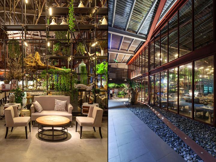Vivarium restaurant by hypothesis stu d o architects